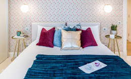 Projekty,  Sypialnia zaprojektowane przez Hampstead Design Hub