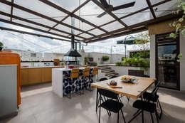 Terrace by Macro Arquitetos
