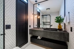 modern Bathroom by Macro Arquitetos