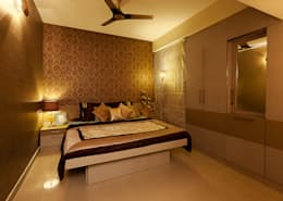 Mr.Ishaan's Residence,Sholinganallur: modern Bedroom by M/s Studio7 Architects