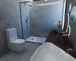 Banheiros modernos por Smile Bath S.A.