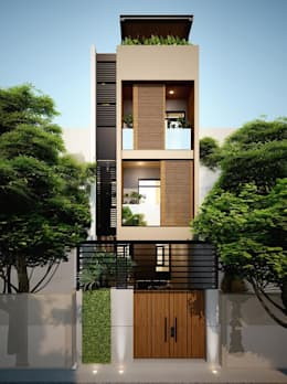 บ้านเดี่ยว by Công ty TNHH Xây Dựng TM DV Song Phát