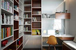 ห้องทำงาน/อ่านหนังสือ by Công ty TNHH Xây Dựng TM DV Song Phát