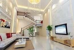 ห้องนั่งเล่น by Công ty TNHH Xây Dựng TM DV Song Phát