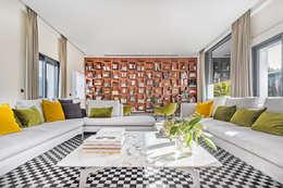 غرفة المعيشة تنفيذ Tarimas de Autor