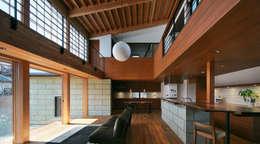 Ruang Keluarga by かんばら設計室
