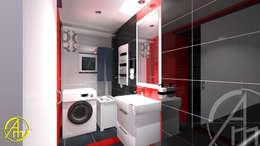 浴室 by AM PROJEKT Adrian Muszyński
