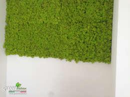 Salas de estilo moderno por Green Habitat s.r.l.