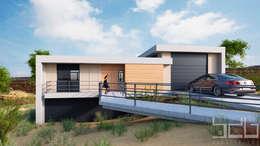 Frente Acceso:  de estilo  por BDB Arquitectura