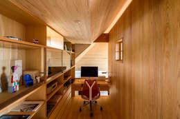 書房/辦公室 by 中山大輔建築設計事務所/Nakayama Architects