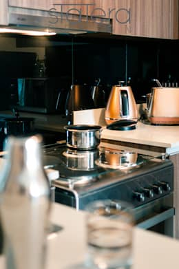 Kitchen - Detail Shot: rustic Kitchen by Statera Design