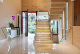 Escaleras de estilo  por Maciel e Maira Arquitetos