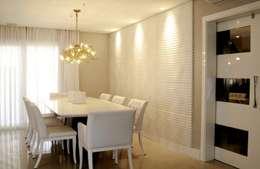 REFORMA RADICAL: Salas de jantar modernas por Maciel e Maira Arquitetos