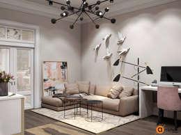 Дизайн интерьера небольшой гостиной в современном стиле: Гостиная в . Автор – Art-i-Chok