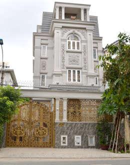 Rumah by Cổng nhôm đúc Thiên Thanh Bảo