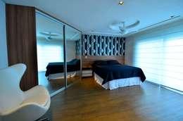 ห้องนอน by Maciel e Maira Arquitetos