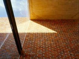 Patio Interior: Paredes de estilo  por Eduardo Gutiérrez Taller de Arquitectura