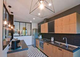 مطبخ تنفيذ 07am architetti