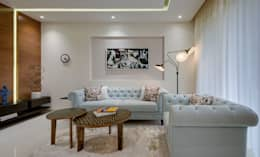 Living Room: minimalistic Living room by Spaceitup