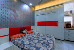 Residential Proj 2:  Bedroom by shritee ashish & associates