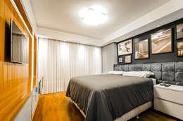 غرفة نوم تنفيذ Saia Arquitetura