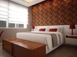 غرفة نوم تنفيذ Pratique Arquitetura