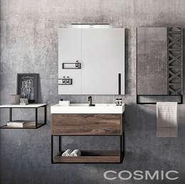 Mueble The grid / Cosmic: Baños de estilo  por Skyfloor