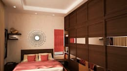 Medieval India : modern Bedroom by NVT Quality Build solution