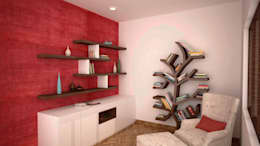 Study or reading area: modern Study/office by NVT Quality Build solution
