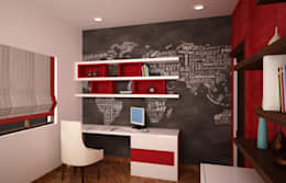 Kids Study area: modern Nursery/kid's room by NVT Quality Build solution