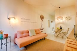 scandinavian Living room by SHI Studio, Sheila Moura Azevedo Interior Design