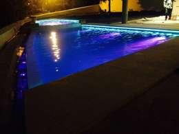 Hồ bơi trong vườn by EESP equipos electrónicos smart home