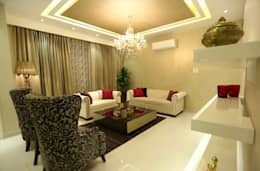 Residential Interiors: modern Living room by SDINC