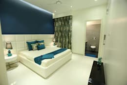 Residential Interiors: modern Bedroom by SDINC