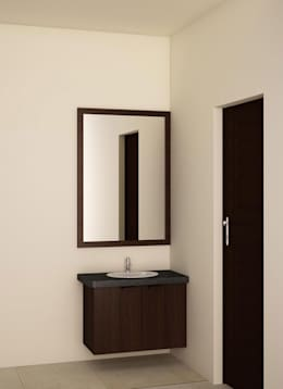 Vanity Unit: modern Bathroom by NVT Quality Build solution