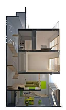 Bản vẽ thiết kế kiến trúc:  Nhà gia đình by Công ty TNHH Xây Dựng TM – DV Song Phát
