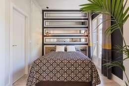 臥室 by ESPACIOS, ALBERTO ARANDA