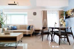 1314 Forbeswood BGC: modern Living room by TA+P Design Lab