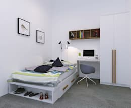 Bedroom 1:   by FIANO INTERIOR