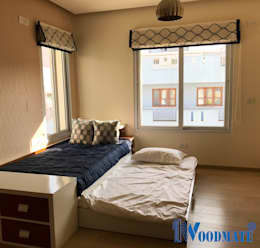 Villa Project at Renaissance Nature Walk: modern Bedroom by Deccan Structural Systems Pvt. Ltd.