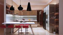 Kitchen Set & Credenza TV - Nadia - Mampang:  Kitchen by Pro Global Interior