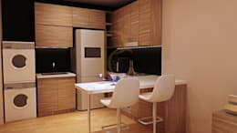 Kitchen Area:   by Pro Global Interior