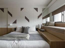 床頭:  臥室 by 存果空間設計有限公司