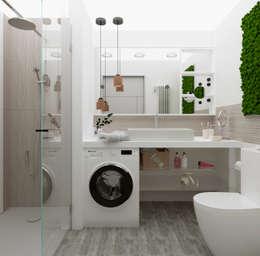 حمام تنفيذ Дизайн студия Simply House