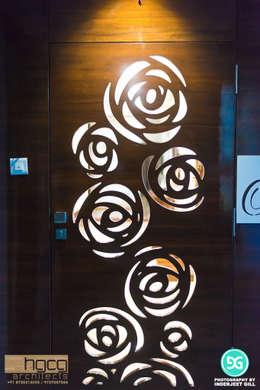Main Door:  Front doors by HGCG Architects