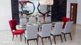 Comedor Principal: Comedores de estilo moderno por EPG  Studio