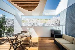 アウトドアリビング: 株式会社seki.designが手掛けた庭です。