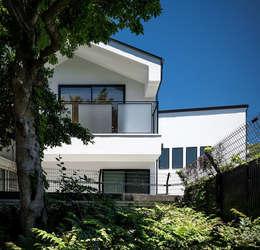 南面の外観: 株式会社seki.designが手掛けた家です。