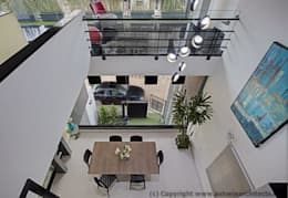 Striking House Room Designs: 40×60, 4BHK:  Floors by M/S Ashwin Architects