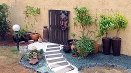 Jardines de estilo rústico por Grecor